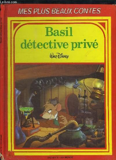 BASIL DETECTIVE PRIVE / COLLECTION MES PLUS BEAUX CONTES