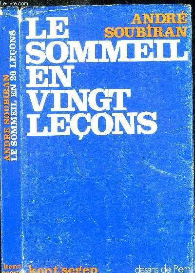 LE SOMMEIL EN VINGT LECONS