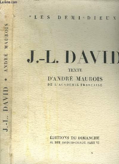 J.-L. DAVID / COLLECTION LES DEMI-DIEUX