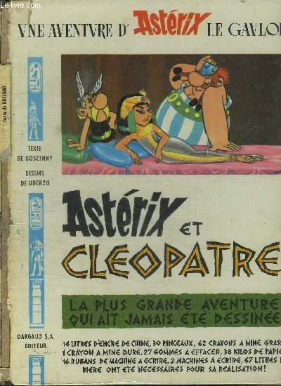 ASTERIX ET CLEOPATRE / UNE AVENTURE D'ASTERIX LE GAULOIS