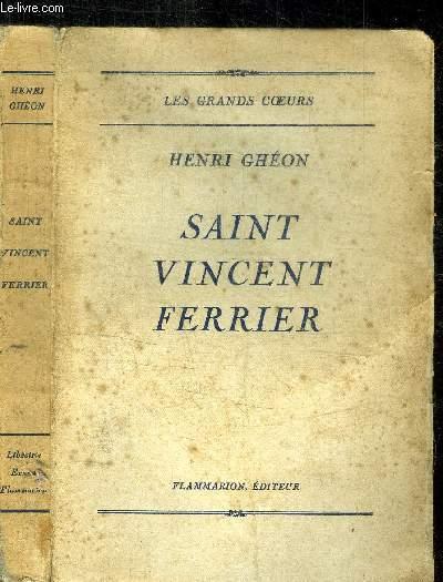 SAINT VINCENT FERRIER / COLLECTION LES GRANDS COEURS
