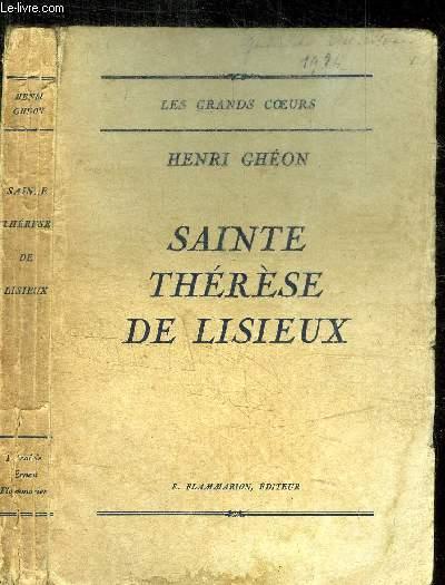 SAINTE THERESE DE LISIEUX / COLLECTION LES GRANDS COEURS
