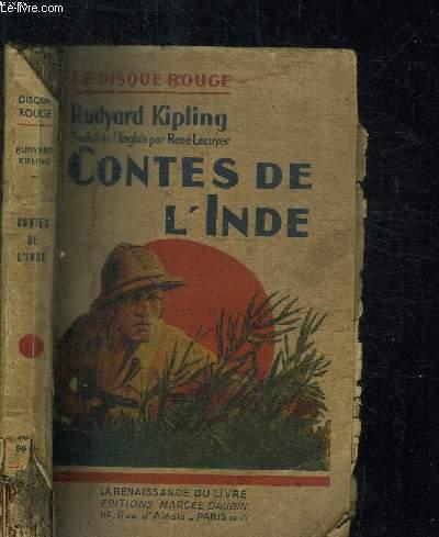 CONTES DE L'INDE / COLLECTION LE DISQUE ROUGE