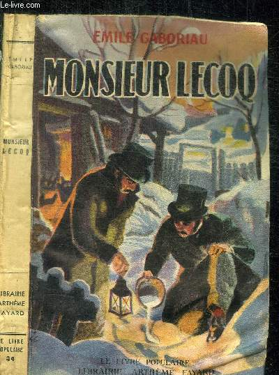 MONSIEUR LECOQ / COLELCTION LE LIVRE POPULAIRE
