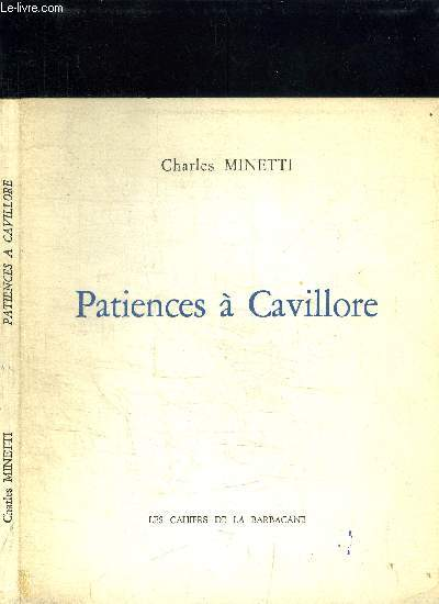 PATIENCES A CAVILLORE