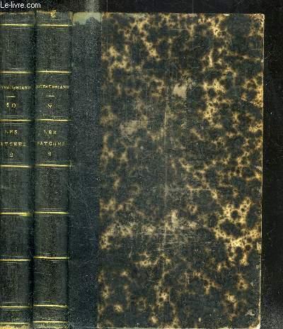 LES NATCHEZ + MELANGES POLITIQUES - TOME 1 + 2 EN 2 VOLUMES