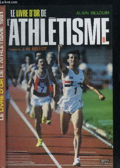 LE LIVRE D'OR DE L'ATHLETISME