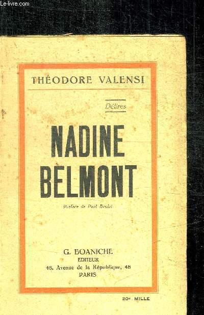 NADINE BELMONT