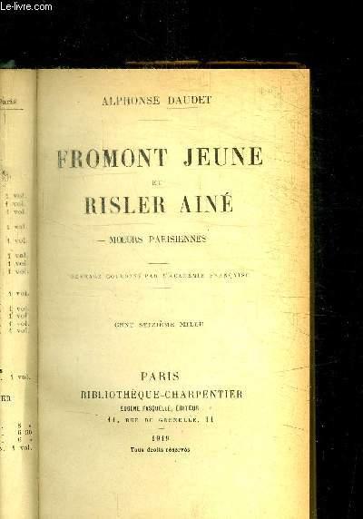 FROMONT JEUNE ET RISLER AINE - MOEURS PARISIENNES