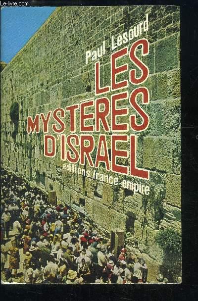 LES MYSTERES D'ISRAEL