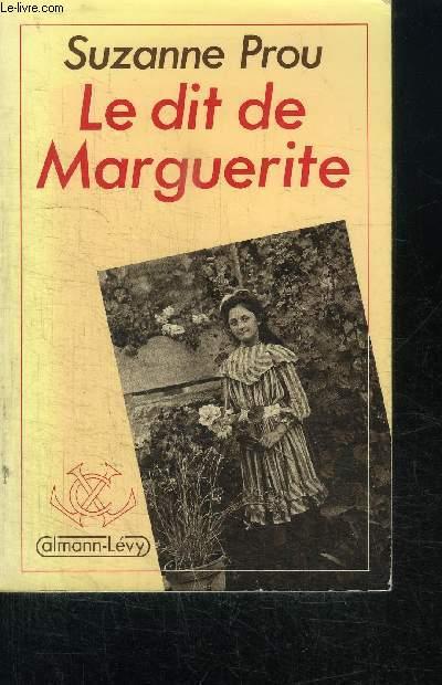 LE DIT DE MARGUERITE