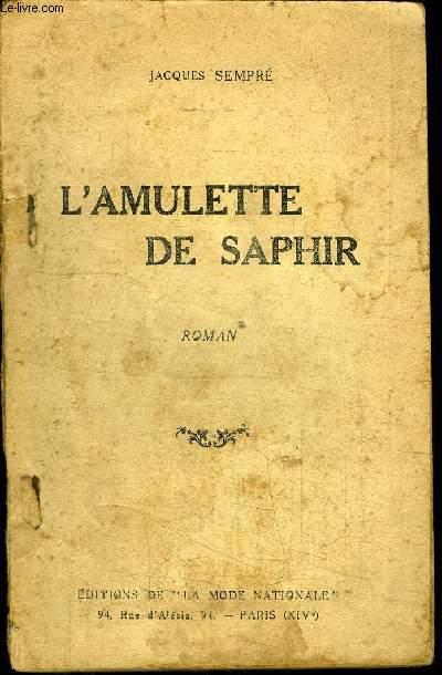 L'AMULETTE DE SAPHIR