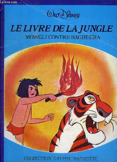 LE LIVRE DE LA JUNGLE MOWGLI CONTRE BAGHEERA