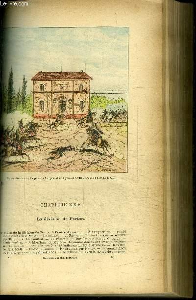 FRANCAIS ET ALLEMANDS - HISTOIRE ANECDOTIQUE DE LA GUERRE DE 1870-1871 - EN 3 VOLUMES (T1+2+4)/ Tome 1 NIEDERBRONN WISSEMBOURG FROESCHWILLER CHALONS REIMS BUZANCY BEAUMONT MOUZON BAZEILLES SEDAN / Tome 2 GRAVELOTTE REZONVILLE VIONVILLE / Tome 4 SARREBUCK