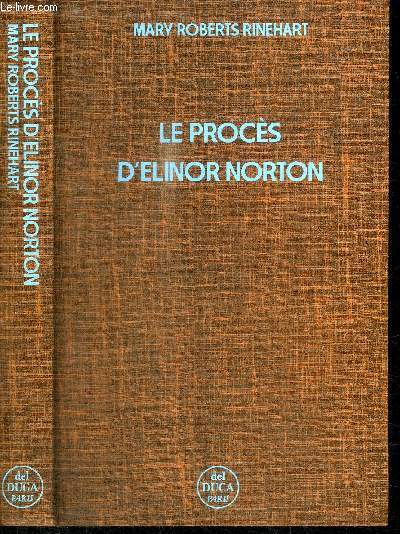 LE PROCES D'ELINOR NORTON
