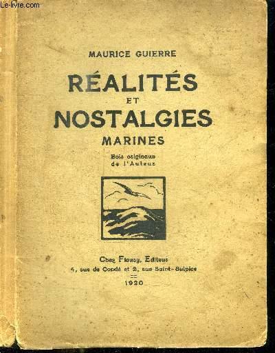REALITES ET NOSTALGIES MARINES