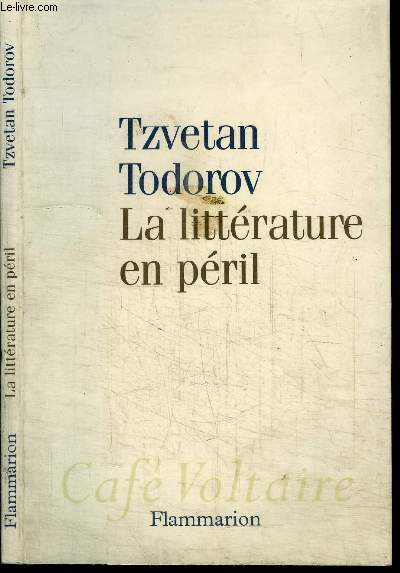 LA LITTERATURE EN PERIL