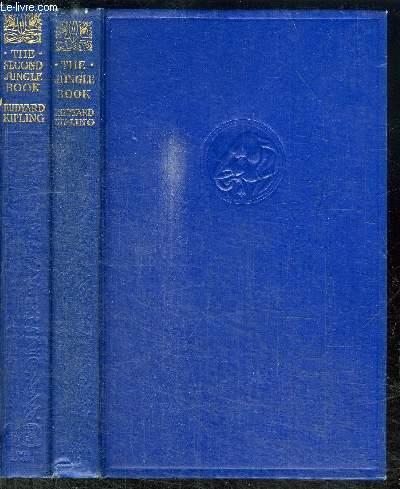 THE JUNGLE BOOK / THE SECOND JUNGLE BOOK  - EN 2 VOLUMES (TOME 1+2)