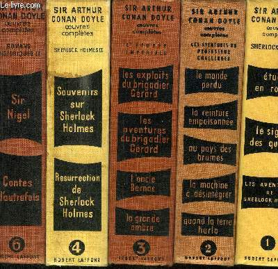 OEUVRES COMPLETES EN 7 VOLUMES (TOME 1-2-3-4-6-7-12 )