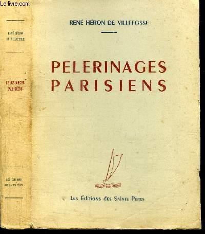 PELERINAGES PARISIENS