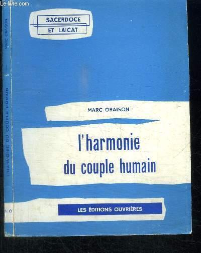 L'HAMONIE DU COUPLE HUMAIN