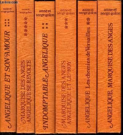 MARQUISE DES ANGES - ANGELIQUES - EN 11 VOLUMES (TOME 1+2+3+4+5+6+7+8+9+10+11) - Tome 1 : Angélique - Tome 2 : Le chemin de Versailles - Tome 3 : Angélique et le roy - Tome 4 : Indomptable Angélique - Tome 5 : Angélique se révolte - Tome 6 : Angélique...