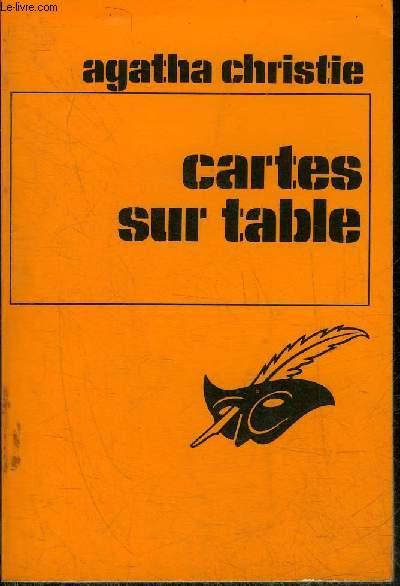 CARTES SUR TABLES - COLLECTION LE MASQUE N°275