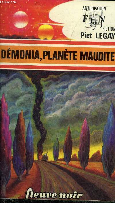 DEMONIA PLANETE MAUDITE - COLLECTION ANTICIPATION N°771.