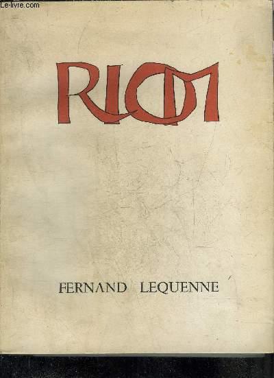 RIOM PETITE VILLE GRANDE HISTOIRE - COLLECTION LE BIBLIOPHILE EN AUVERGNE TOME XI + ENVOI DE L'AUTEUR.