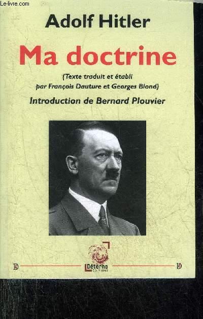 MA DOCTRINE - COLLECTION DOCUMENTS POUR L'HISTOIRE