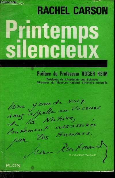 PRINTEMPS SILENCIEUX.