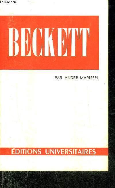 SAMUEL BECKETT - COLLECTION CLASSIQUES DU XXE SIECLE N°58.