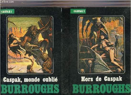 CASPAK MONDE OUBLIE + HORS DE CASPAK (2 OUVRAGES).