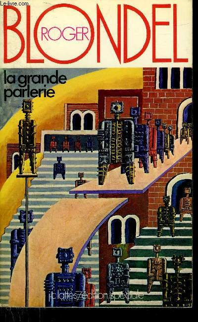 LA GRANDE PARLERIE + ENVOI DE L'AUTEUR.