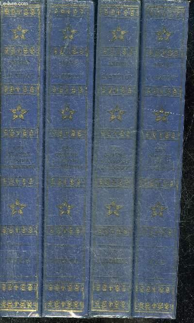 LES QUATRE SAISONS DE L'HISTOIRE - EN 4 TOMES - TOMES 1 + 2 + 3 + 4 - HIVER - AUTOMNE - PRINTEMPS - ETE.