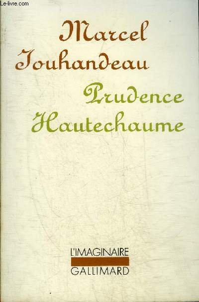 PRUDENCE HAUTECHAUME - COLLECTION L'IMAGINAIRE N°56.