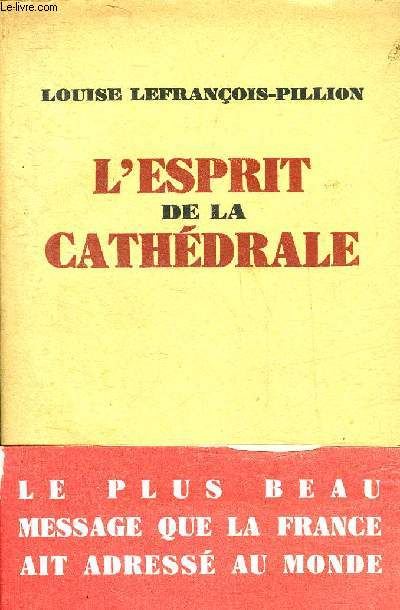 L'ESPRIT DE LA CATHEDRALE - COLLECTION PRESENCES.