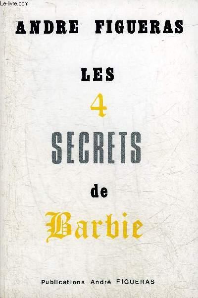 LES 4 SECRETS DE BARBIE.