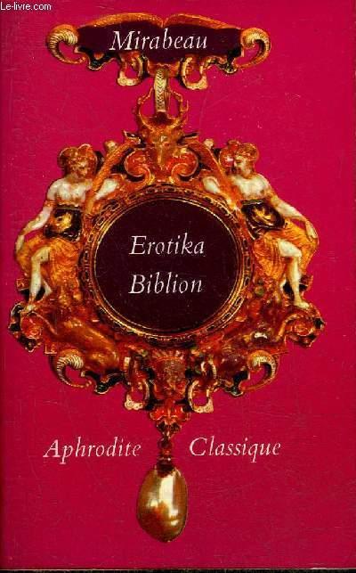 EROTIKA BIBLION - COLLECTION APHRODITE CLASSIQUE N°80.