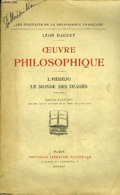 OEUVRE PHILOSOPHIQUE - L'HEREDO LE MONDE DES IMAGES