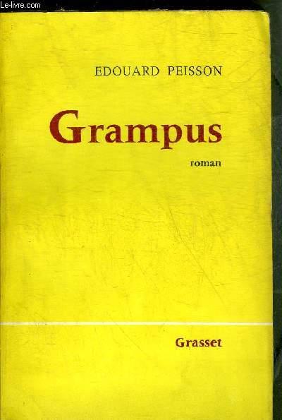 GRAMPUS - ROMAN + ENVOI DE L'AUTEUR.