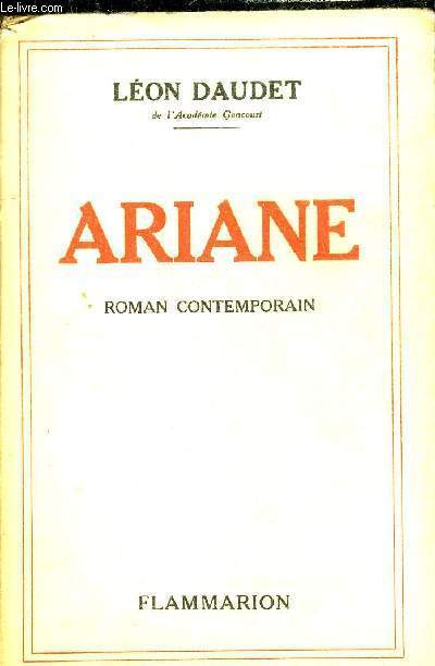 ARIANE - ROMAN CONTEMPORAIN.