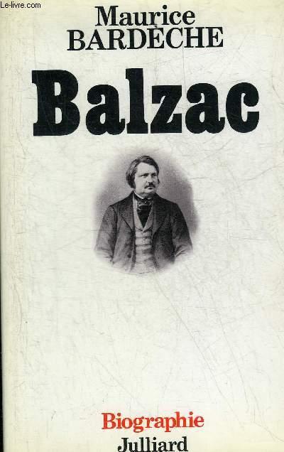 BALZAC - COLLECTION LES VIVANTS.
