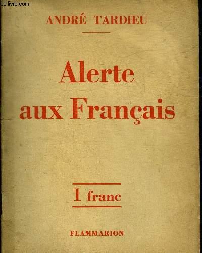 ALERTE AUX FRANCAIS.