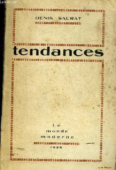 TENDANCES.