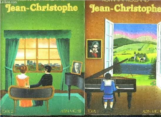 JEAN CHRISTOPHE - EN DEUX TOMES - TOMES 1 + 2 .