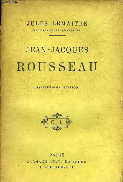 JEAN JACQUES ROUSSEAU - 17E EDITION.