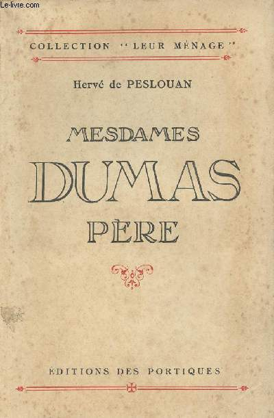 Mesdames Dumas père - collection