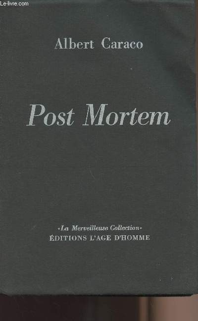 Post Mortem - collection