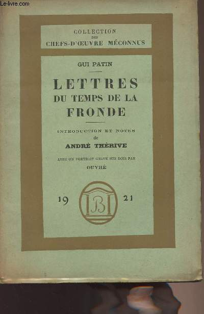 Lettres du temps de la fronde - collection